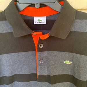Lacoste Shirts - Lacoste Long Sleeve Polo